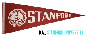 Bachelor of Arts from Stanford University for college counseling
